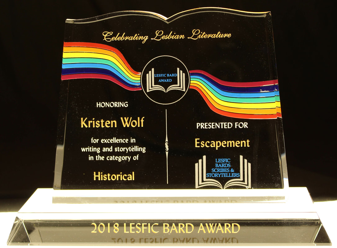 2018 Winners & Finalists - Lesfic Bard Awards